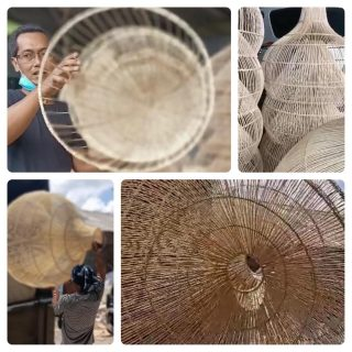 Loading @ Bali 4 the secret of ogimi, we can't wait to see those custommade pendants made by our amazing artisans, it's real craftmanschip, 🤘🤘♥️ #Thesecretofogimi#Rattanpendants#Bohodesign#Bohochic#Bohointeriors......