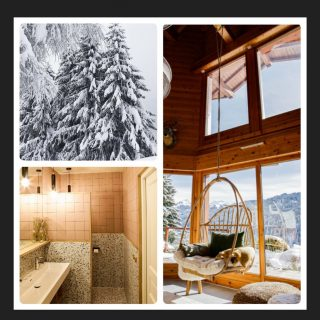 From Portes du Soleil with ♥️, who woudn't want to RELAX in our Ogimi hangchair overlooking the winter wonderland from the beautiful chalet LE ROC REMI/Les Gets 🤘🤘♥️