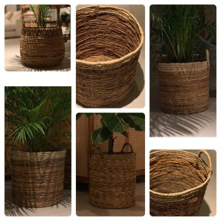 Time for plants & plants.... We can offer those natural baskets with or without handles to give your plant that extra natural/Bohemian touch in your Livingroom.  #Thesecretofogimi#Bohostyle#Bohodesign#Bohointeriors#🏄🏻♂️🏄🏻♂️🤹♀️♥️